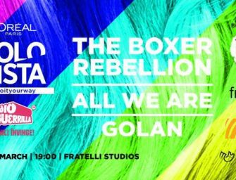 Mărţișor sonor: 2 invitaţii duble la The Boxer Rebellion, All We Are și GOLAN